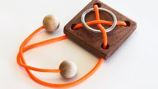 Rope Ring Puzzle Solution