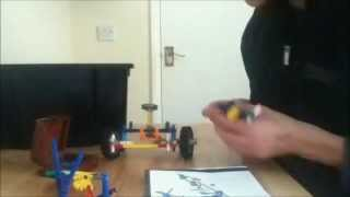 Louis | K'nex Truck Build Timelapse And Stop Motion