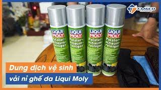 Dung dịch vệ sinh vải nỉ ghế da Liqui Moly UPHOLSTERY CLEANER