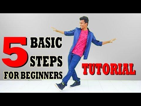 5 Basic Dance Steps for Beginners    Nishant Nair Tutorial