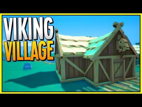 BUILDING A VIKING VILLAGE - Brand New City Builder - Mind the Vikings Gameplay