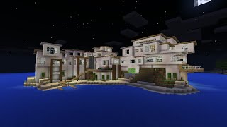 Minecraft: BIGGEST HOUSE EVER MADE! Modern Mansion