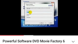 ulead dvd moviefactory 7 free download full version with crack