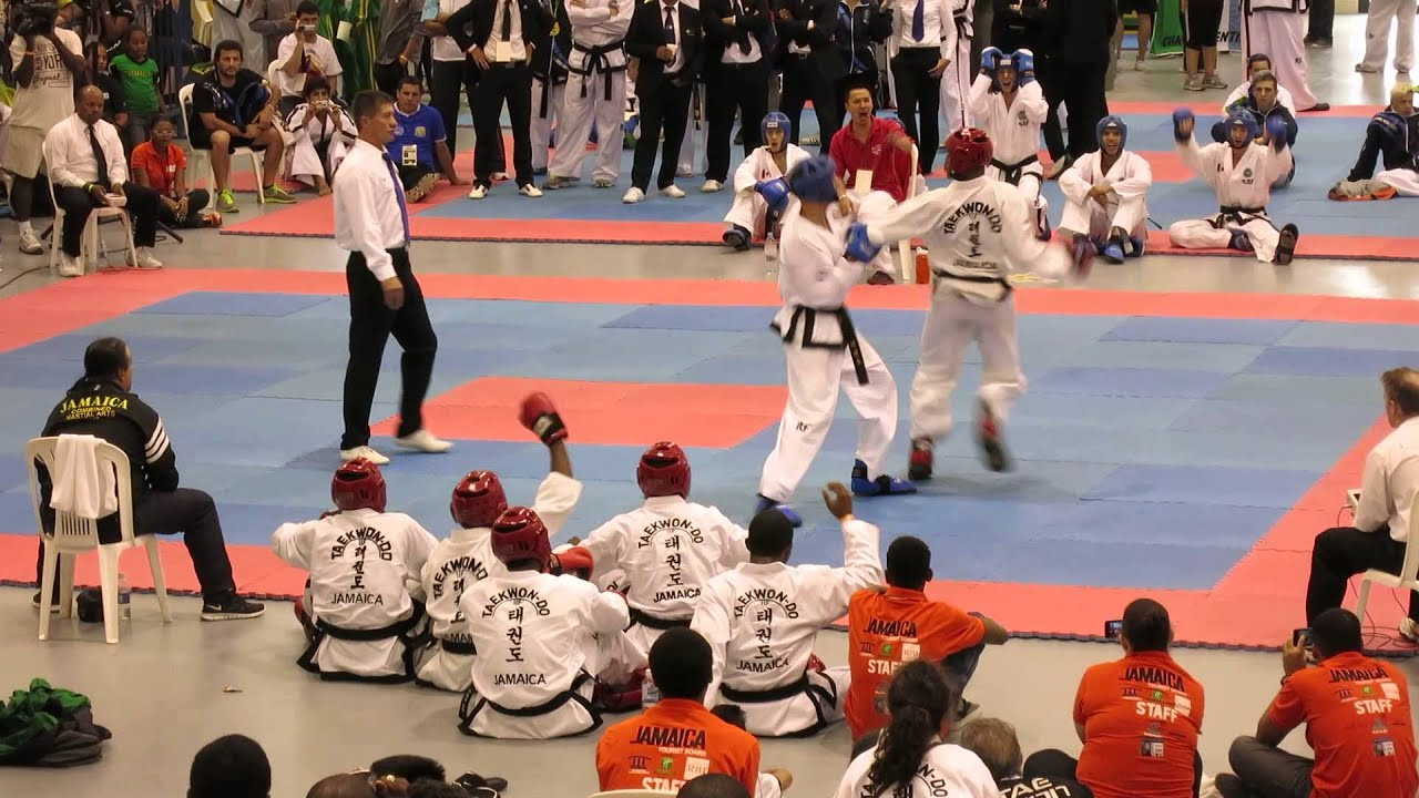 Awesome Fight! Canada vs Jamaica - 2014 ITF World Cup Montego Bay