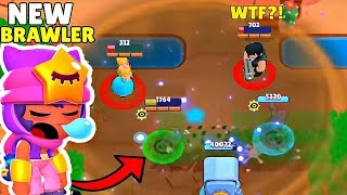 300 IQ NEW Brawler is too OP I Brawl Stars Wins & Fails #8