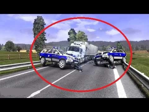 Нарушители в Euro Truck Simulator 3 Multiplayer