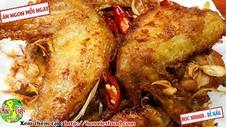✅ Nếu Là Cánh Gà Hãy Làm Cánh Gà Chiên Muối Sả - Ngon Bất Ngờ   Hồn Việt Food