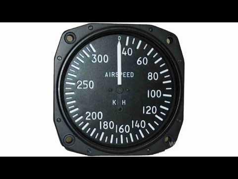 Как измеряют скорость самолета