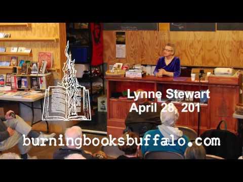 Lynne Stewart Speaks at Burning Books - 04/28/16
