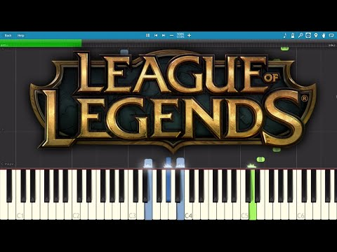 Legends Never Die ft. Against The Current - Piano Tutorial - League Of Legends Worlds 2017