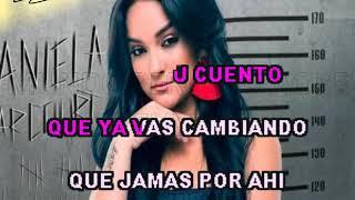 Daniela Darcourt - Señor mentira (karaoke)