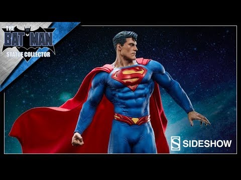 Preview: Superman Premium Format Statue From Sideshow Collectibles!