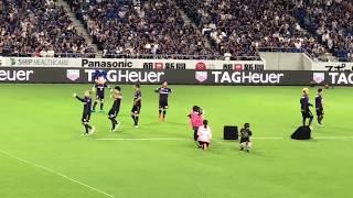 【DA PUMP】U.S.A. ガンバ大阪 対 FC東京戦で「U.S.A.」をパフォーマン...