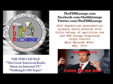 Mini-Episode #566 - May 2015 - 2016 GOP presidential primaries early analysis