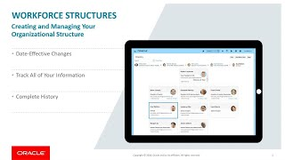 Oracle hcm cloud delivers seamless management of employees, contingent workers, and other persons across the enterprise that have simple or complex work rela...
