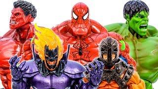 Червоний Халк Перетворити Фути Павук Халк Розгром Dormammu~ Супергерої Іграшки Прикинься Грати Іграшок Марвел
