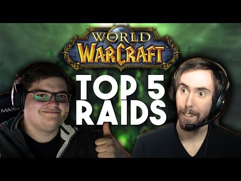 Asmongold & Hotted89 Talks: Top 5 Raids in World of Warcraft (Discussion)