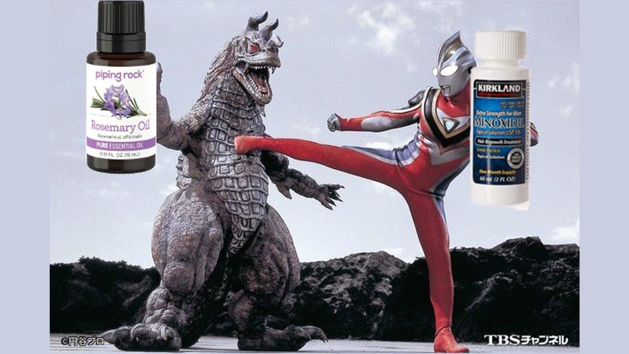 Rosemary oil vs minoxidil for hair loss