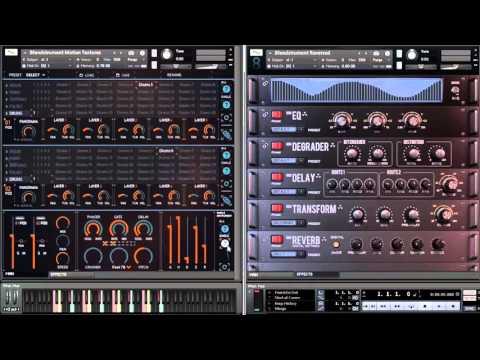 8Dio Blendstrument Motion Textures Drums