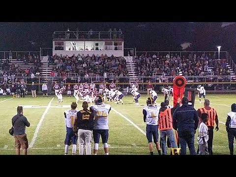 Whiteford vs. Morenci football game 9-29-17 Part 1