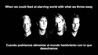 Nickelback - When We Stand Together (LETRA EN ESPAÑOL E INGLES)