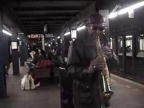 Soprano Sax Jazz In Subway: Take 5