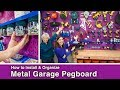 How to Install and Organize Garage Pegboard // Wall Control PURPLE