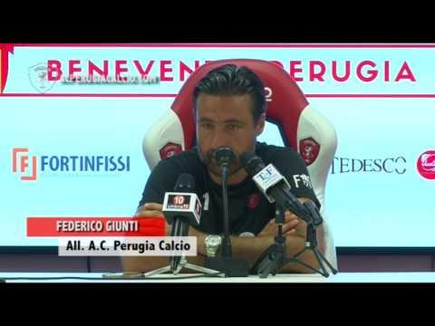 Tim Cup 17/18, mister Giunti pre Benevento-Perugia