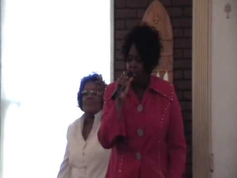 "Elder Lillian Singing ""GREAT IS THY FAITHFULNESS"""
