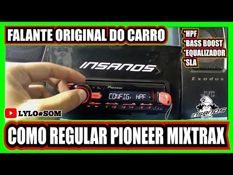 Regulando Radio Pioneer Mixtrax Simples E Facil Como Regular Frequência Hpf Saida De Rca
