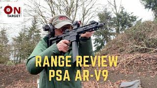PSA AR-V Range Review