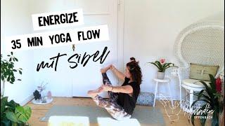 Energize Vinyasa Yoga Flow |35 Min Yoga |  Sibel YLO