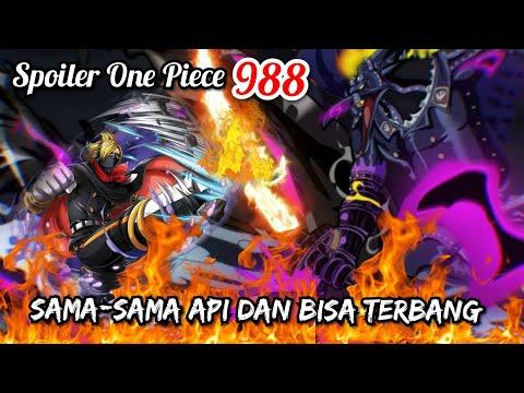 Full Spoiler One Piece 988 Bukan Zoro Sanji Yang Paling Cocok Melawan King One Piece Terbaru Youtube