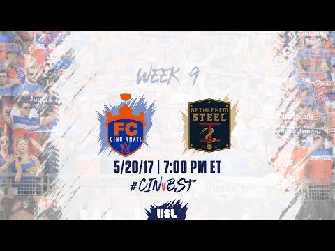 USL LIVE - FC Cincinnati vs Bethlehem Steel FC 5/20/17