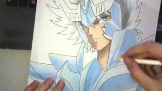 Speed Drawing - Phoenix Ikki (Saint Seiya)