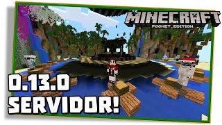 Minecraft PE 0.13.0: SERVIDOR DE HUNGER GAMES! (Pocket Edition / MCPE)