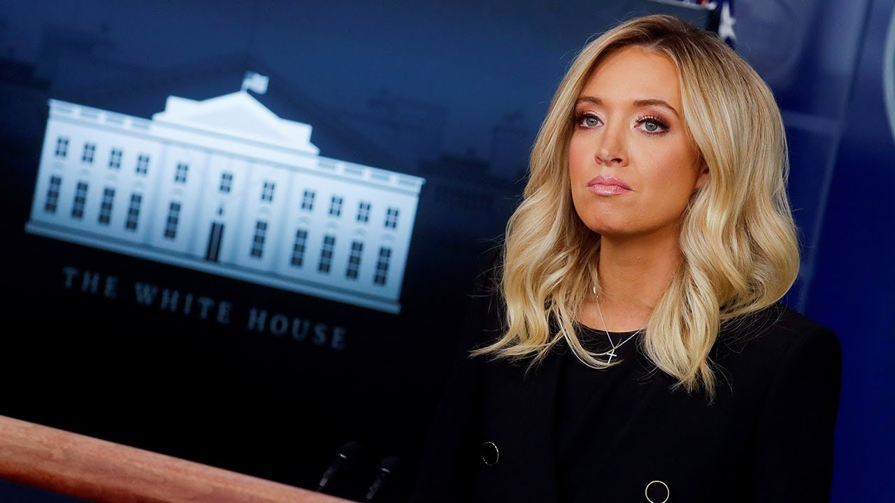 I Will Never Lie To You New White House Press Secretary Kayleigh Mcenany Makes Promise On Podium Youtube