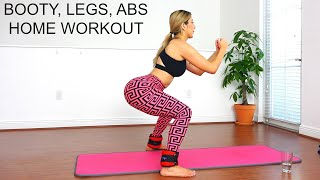 Glutes, Legs, and Abs Workout!