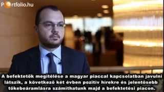 Van okunk bízni a hazai ingatlanpiacban - Interjú Ioannis Ganossal (Portfolio.hu)