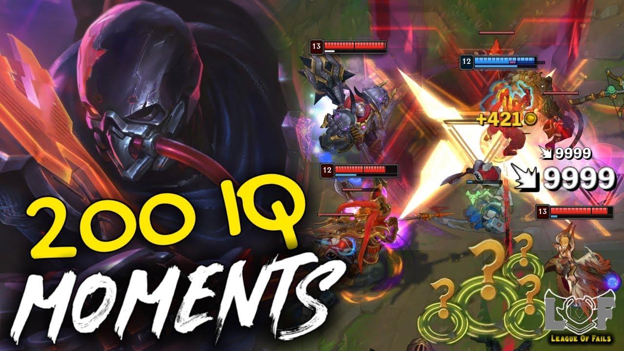 200 IQ MOMENTS League of Legends 2020