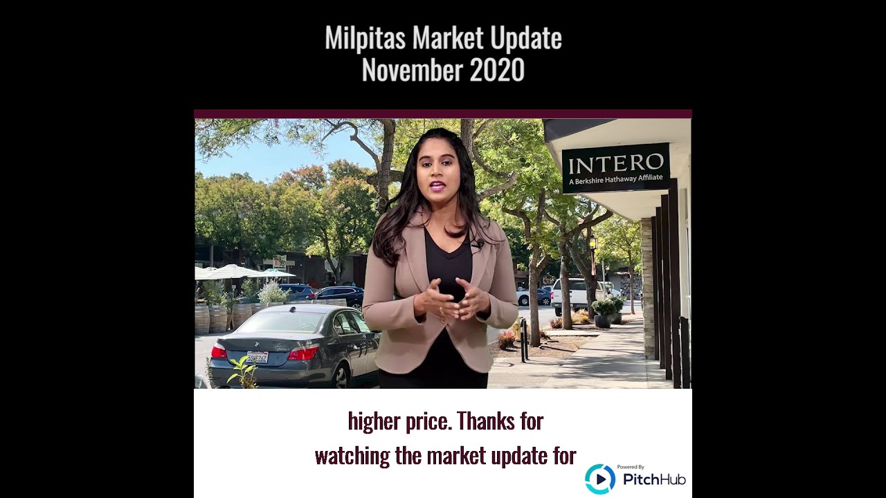 Milpitas November 2020 Market Update