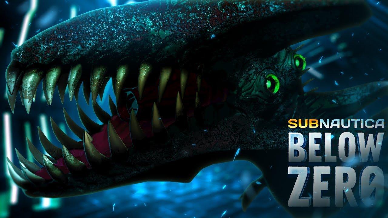 Subnautica: Below Zero - Shadow Leviathan & Ice Dragon Leviathans - New  Below Zero Reveal - Gameplay
