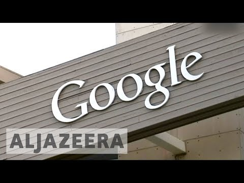 EU slaps Google with record fine for breaching competition rules