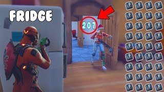 7 minutes 12 seconds of the overpowered fridge meta... 😂