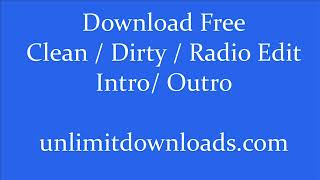 MihTy (Jeremih & Ty Dolla Sign) Ft. French Montana - FYT (Clean / Dirty) unlimitdownloads.com
