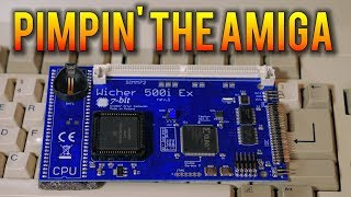 Pimpin' the Amiga 500 in 2018 - Here comes a new challenger.  Wicher 500i Ex Accelerator | MVG