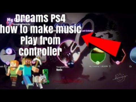 Dreams Ps4 How To Make Sounds Come from controller (music tutorial) thumbnail