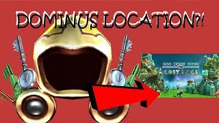 MORE CLUES TO THE DOMINUS? | DOMINUS LOCATION?! | (Roblox Ready Player One Event)
