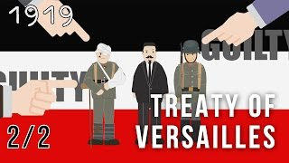 The Treaty of Versailles, Terms of the Treaty 2/2