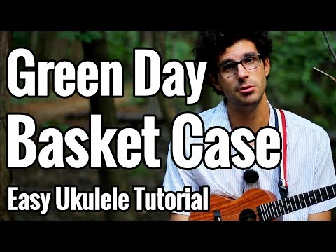 Green Day - Basket Case - Ukulele Tutorial - Chords + Play Along